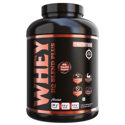 WHEY BLEND PLUS (with Digestive Enzymes) 5LBS