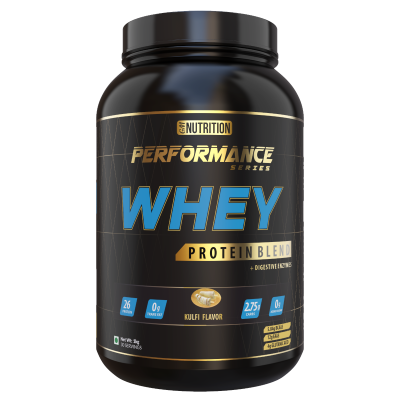 PERFORMANCE WHEY PROTEIN BLEND (with Digestive Enzymes) 1kg